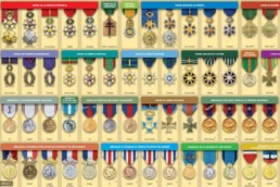 Ordre de préséance des médailles françaises