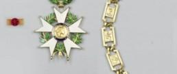 Port légion d'honneur en médaille ordonnance ou en rosette
