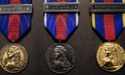 MRV-DSI medaille des reservistes volontaires de defense et securite interieur miniature